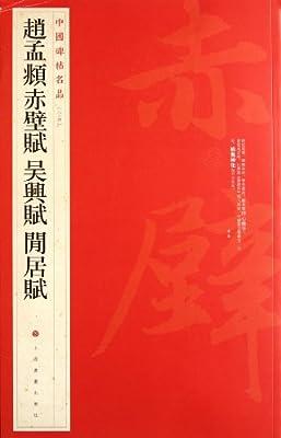 中国碑帖名品:赵孟頫赤壁赋•吴兴赋闲居赋.pdf