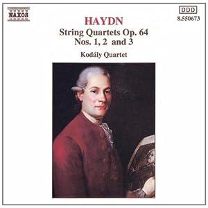 进口CD 海顿 弦乐四重奏作品64号1 2和3 CD