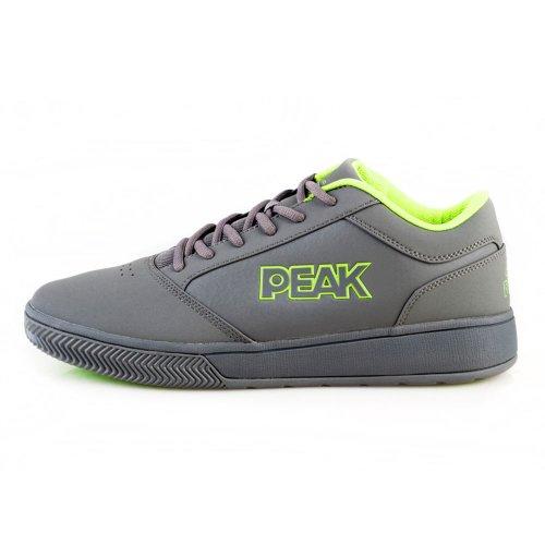 Peak 匹克 秋冬 男子潮流中帮撞色耐磨减震专业篮球鞋E33041A