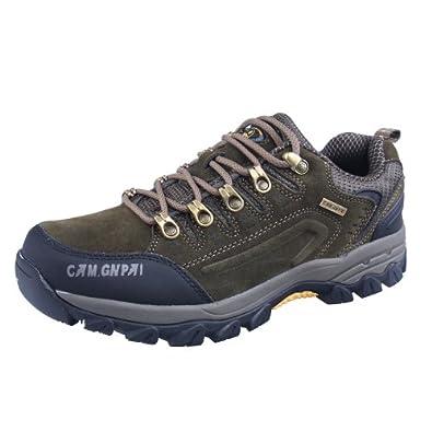 CAM.GNPAI 骆驼队长 徒步鞋 登山鞋 优质反绒牛皮 AA238001703