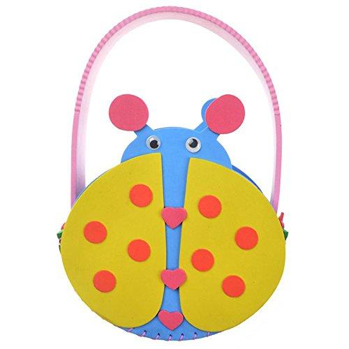 diy手工材料幼儿 k1-10包包 手工包 (动物包包-小瓢虫)