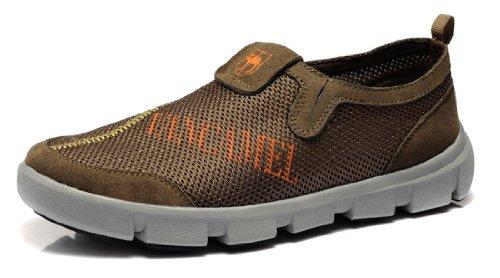 Vancamel 西域骆驼 夏季新款男鞋 清凉透气休闲鞋 反绒皮低帮鞋 魅力经典双色男士鞋 柔软舒适男鞋