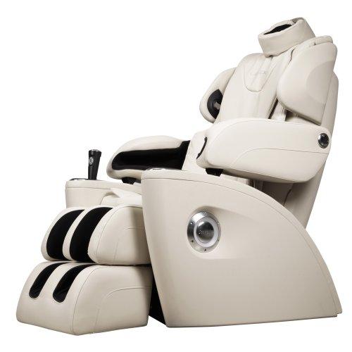 生命动力LP5400I零重力太空舱 家用全身豪华3D按摩椅 头部按摩 脚底滚轮 音乐同步按摩 (白色)正品特价包邮包安装-图片