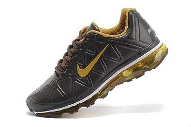 Nike 耐克 AIR MAX系列男鞋 皮面全掌气垫跑步鞋 休闲运动鞋 男款 429889