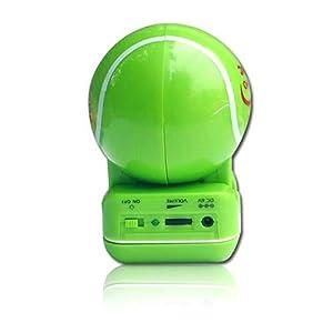绿色手绘麦克风