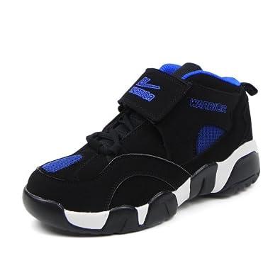 Warrior 回力2013秋冬季新款男式专业篮球鞋 时尚炫色高帮休闲运动鞋 魔术贴加固篮球鞋 WB3009