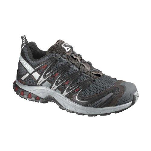 Salomon 萨洛蒙 SHOES XA PRO 3D  男 跑步鞋 356796 底特律灰 44 (UK 9.5)