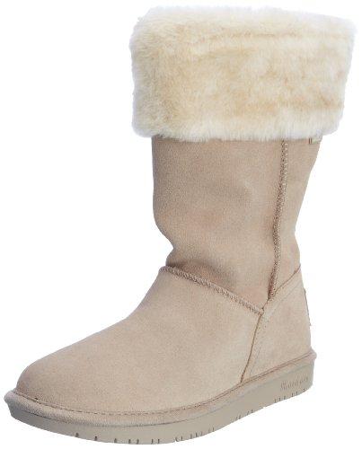 Skechers 斯凯奇 USA系列 SHELBYS – PLUSHY 48007 女 雪地靴