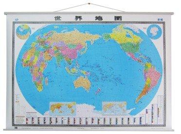 2014新版世界地图挂图