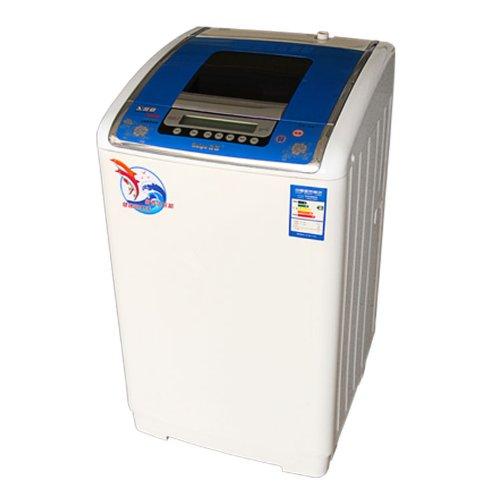 Haipu 海普 XQB68-6899H/洗衣机/全自动/波轮/6.8kg/钻石不锈钢桶 炫彩触摸-蓝茶色-图片
