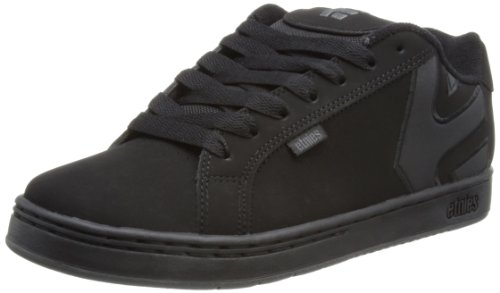 Etnies Mens Fader LS Shoes Footwear,Black Dirty Wash,14