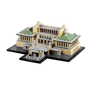 LEGO 乐高 经典建筑 Imperial Hote 21017 东京帝国饭店 .10