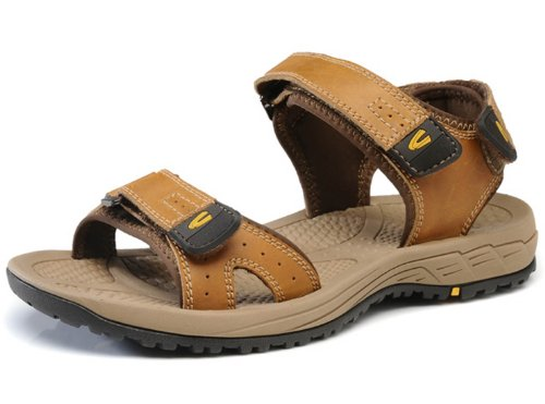 Camel Active 骆驼动感 新款男鞋 夏季凉鞋 休闲鞋 沙滩鞋 涉水鞋 真皮透气凉拖鞋
