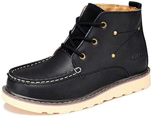 Guciheaven 皮鞋 男士 真皮 棉质内里马丁靴 户外运动靴 工装鞋 商务休闲皮鞋 尊贵男鞋11533