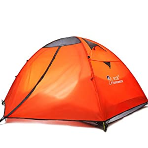 mountaintop 玛丁图 中性 户外露营帐篷2-3人双层防雨