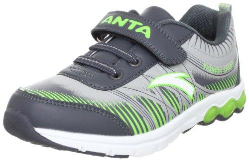 ANTA 安踏 跑步系列 男童 跑步鞋 灰/绿/白色 34 31245529-2