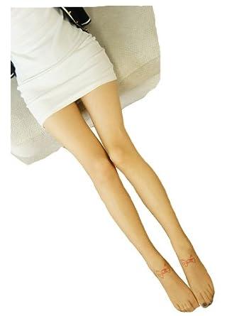 包邮 2013专柜最新款春夏超薄透明原宿纹身丝袜 卡通图案假刺青花纹连