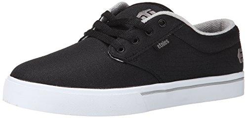 Etnies Men's Jameson 2 Eco Skateboard Shoe, Black/White/Grey, 12 M US