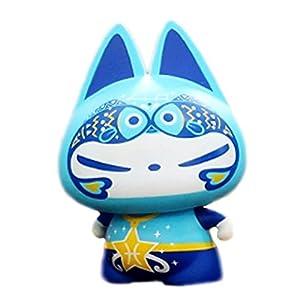 拽猫十二星座生日浪漫礼物 送女朋友套装玩 具公仔创意摆件 (双鱼座)