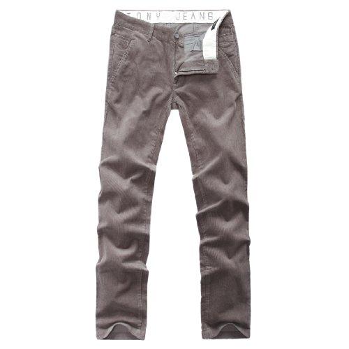 Tony Jeans 汤尼俊士 男式 时尚灯条休闲长裤 1212400070