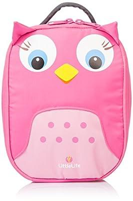 little life 动物造型儿童餐包 猫头鹰 粉色 3岁以上