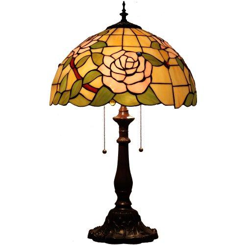欧式40cm特价欧式田园玫瑰花书房办公桌新婚喜庆卧室台灯d160015t-2