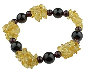 黄水晶搭配石榴石天然极品手串