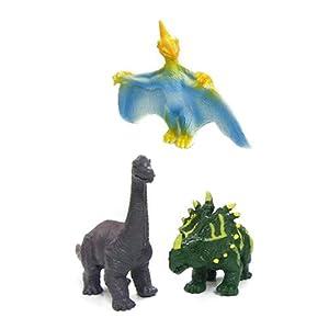 小恐龙模型套装恐龙玩具仿真动物翼龙迅猛龙