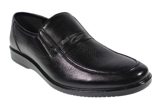 YEARCON 意尔康 日常休闲鞋真皮鞋男单鞋套脚男鞋子 25AE73241A