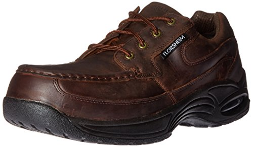 Florsheim Work Men's Polaris FS2430 Work Shoe, Brown, 11.5 3E US