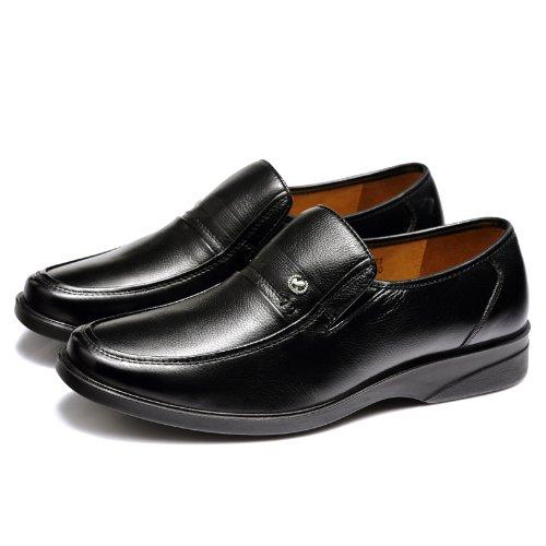 富贵鸟 商务休闲鞋 时尚正装鞋 百搭经典皮鞋 真皮工装鞋 英伦懒人套脚男鞋