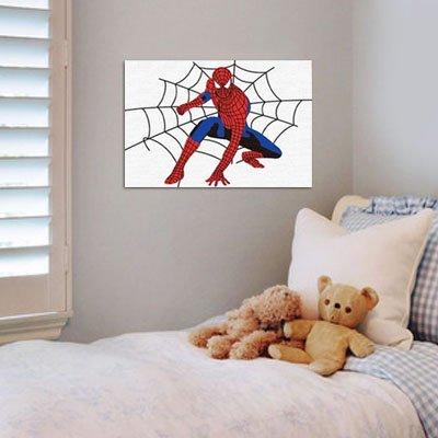 佳彩天颜 diy手绘数字油画 儿童数字 蜘蛛侠 送实木画架 蜘蛛侠 10*15