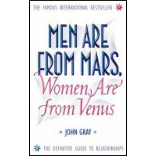 a comparison of the opposite gender in john grays men are from mars women are from venus