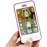 拇指奇特 L988升级版 仿真 苹果触屏音乐手机 iphone 多功能早教玩具 益智玩具 早教机 颜色随机发送-图片