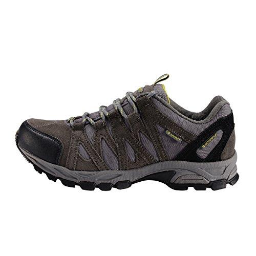 HI-TEC 海泰客 超轻减震防滑 专业防水户外登山鞋男 低帮徒步鞋 32-5C001