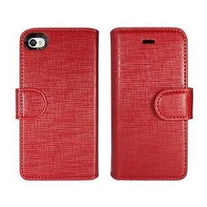 dopmp 迪澳普 apple 苹果 iphone4/4s 手机 外置 皮套 电池 充电宝 红色