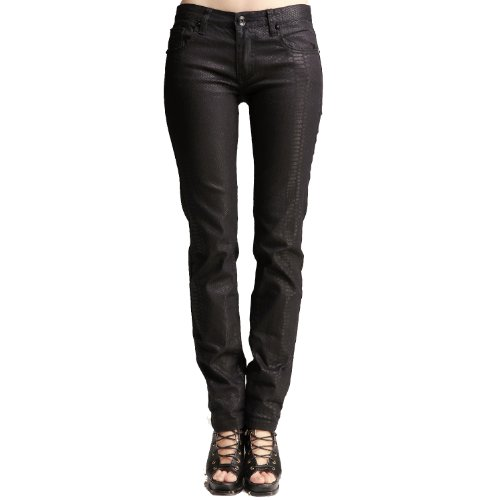 ITISF4 艾夫斯 女式 鳞片修身弹力牛仔裤 21132218015