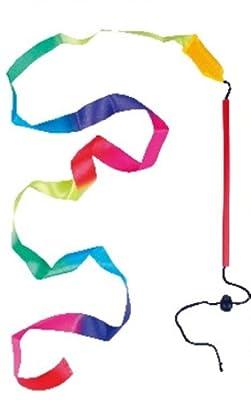 玩具乐巢艺术飘带 正品漂亮儿童健身体操彩带 幼儿园