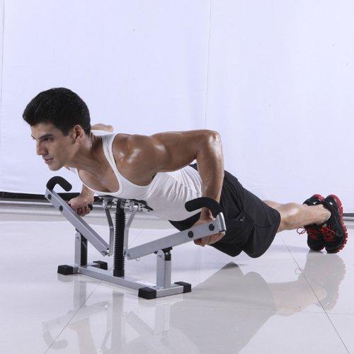 5AFIT 我爱健身 多功能俯卧撑架 室内家用健身器材 胸肌锻炼器 棒棒凳 (黑色(全网销量第一多功能俯卧撑架))-图片