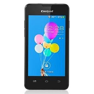 Coolpad 酷派 7231 WCDMA/GSM 3G手机(黑色 联通定制) 4英寸高清屏,双核1.3G