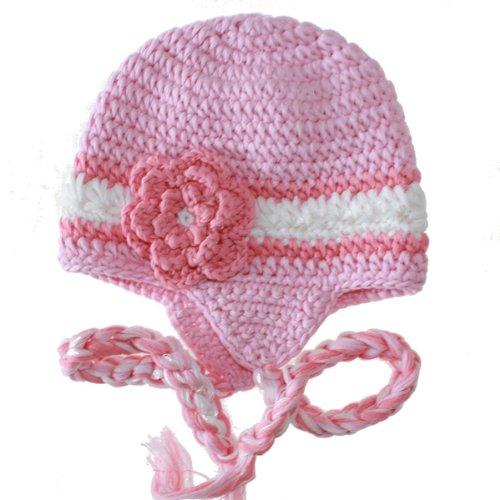 手工编织儿童帽子 手钩毛线帽 卡通动物帽