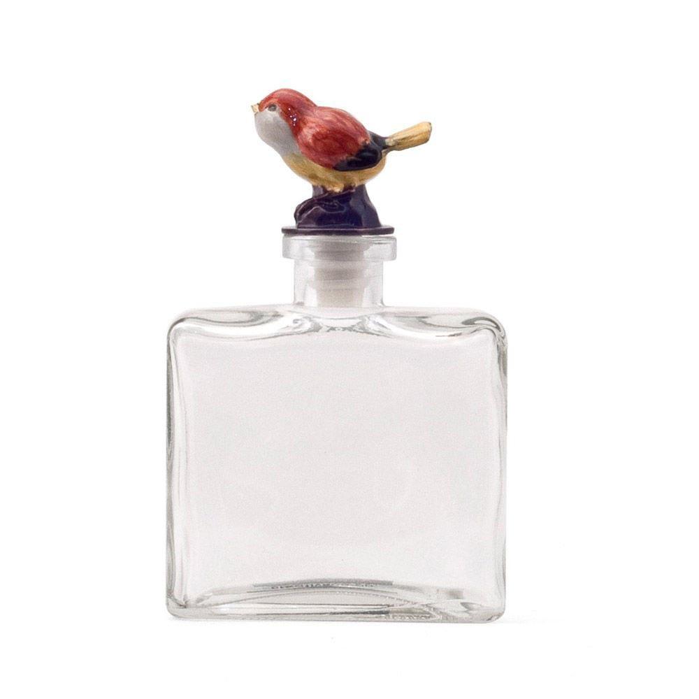 creative home 可立特 美式乡村小鸟玻璃瓶摆饰 创意香水瓶装饰瓶子图片