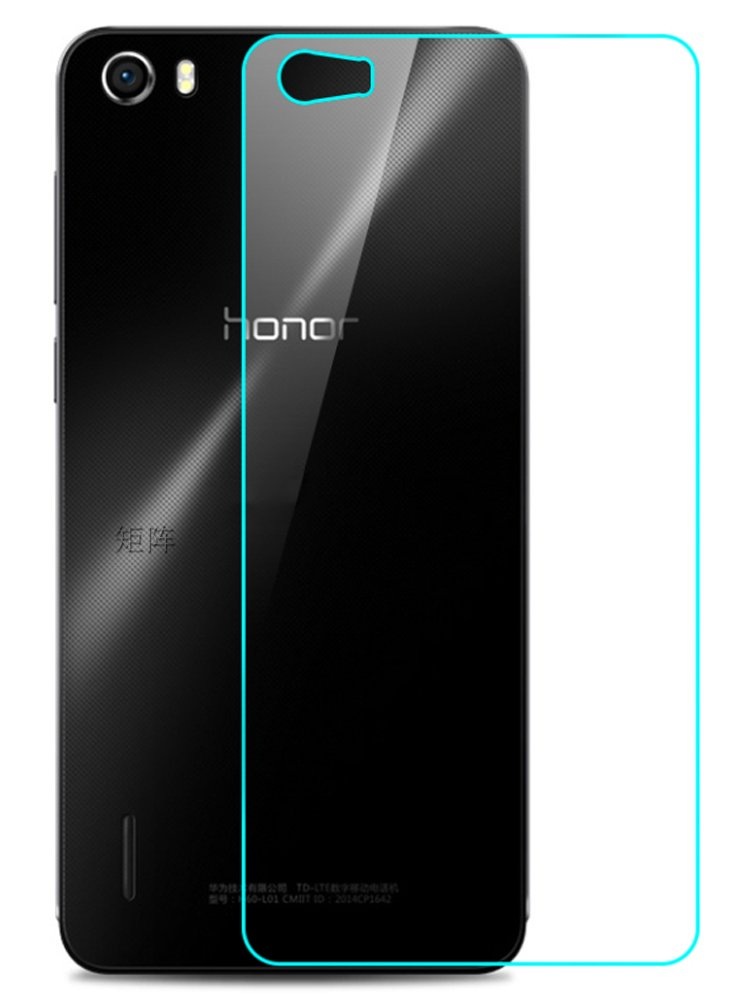 banvo 华为荣耀6钢化玻璃膜 荣耀木兰背膜 h60-l02手机贴膜 h60-l12