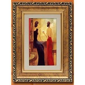 普赛克 装饰画壁画挂画客厅餐厅现代欧式高档三联有框