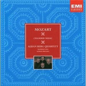 进口CD 莫扎特弦乐四重奏五重奏 58558128 7CD 亚马逊 音乐