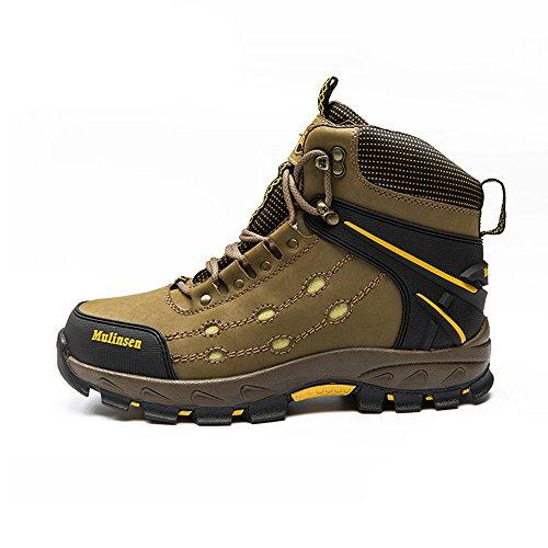 木林森 户外鞋正品登山鞋 防滑保暖高帮鞋运动徒步鞋