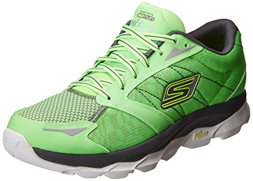 Skechers Performance Men's Go Run Ultra - Night Owl Green Running Shoe 12.5 D - Medium