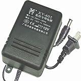 新英 变压器 XY-602 输出DC12V 1000mA 电源 监控专用电源 转换器 (黑色)-图片