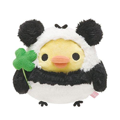 rilakuma 轻松熊 拉拉熊 轻松小熊 四叶草熊猫装扮 毛绒小公仔 毛绒图片