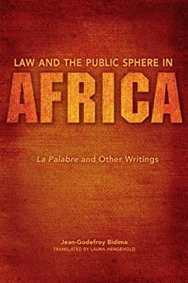 Law and the Public Sphere in Africa: La Palabre and Other Writings.pdf